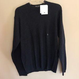 NWT Mens Brandini merino wool sweater size M